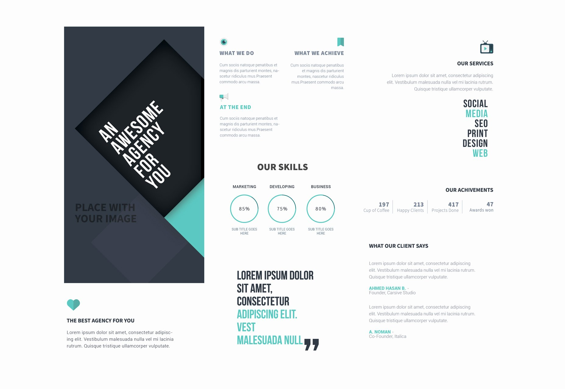 Photoshop Trifold Brochure Template Awesome 50 Incredible Freebies for Web Designers June 2015