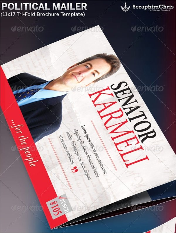Photoshop Trifold Brochure Template Best Of 10 Political Brochures