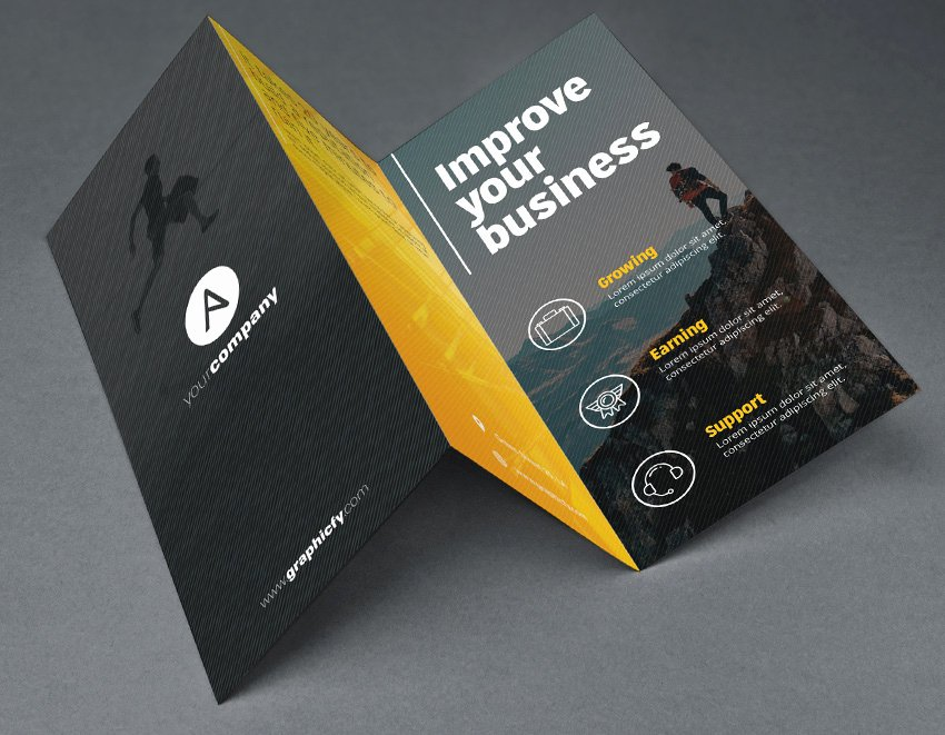 Photoshop Trifold Brochure Template Best Of Tri Fold Brochure Template Psd Brochure Templates
