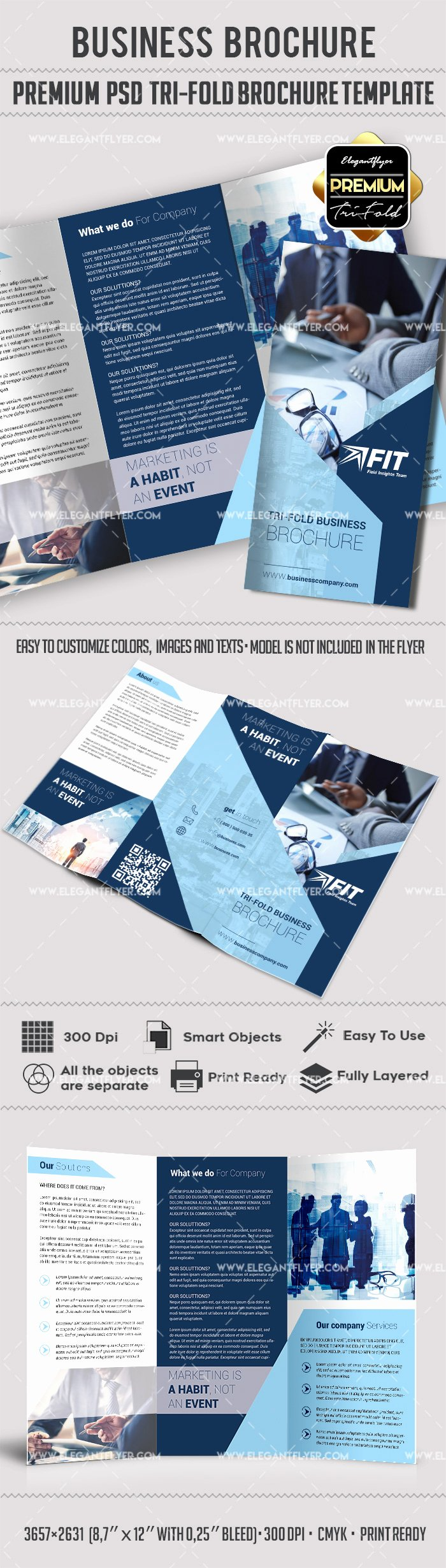 Photoshop Trifold Brochure Template Fresh Shop Brochure Template – by Elegantflyer