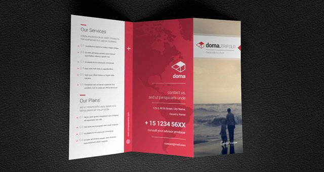 Photoshop Trifold Brochure Template Lovely Brochure 3 Fold Template Csoforumfo