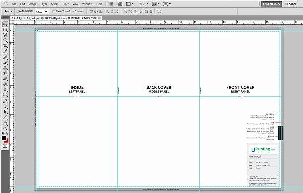Photoshop Trifold Brochure Template Lovely Photoshop Tri Fold Brochure Template How to Set Up A Tri