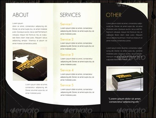 Photoshop Trifold Brochure Template Luxury Adobe Tri Fold Brochure Template Csoforumfo