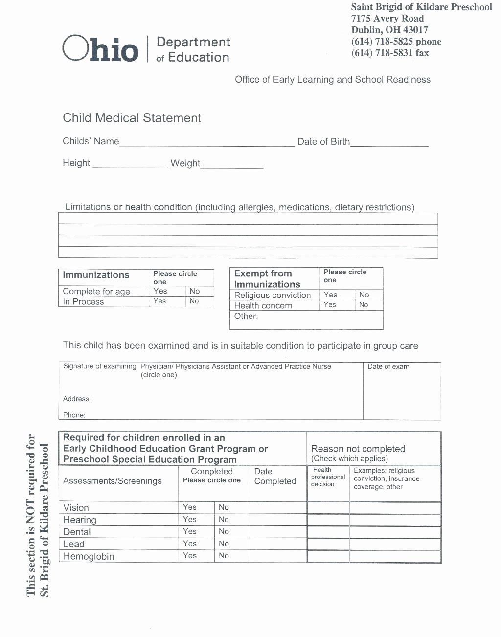 Physical Exam form Template Awesome Veterinary Physical Exam form Template – Versatolelive
