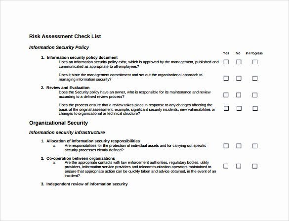 Physical Security assessment Template Best Of 25 Of Physical Security assessment Template