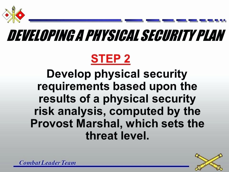 Physical Security Plan Template Fresh Physical Security Risk assessment Report Template