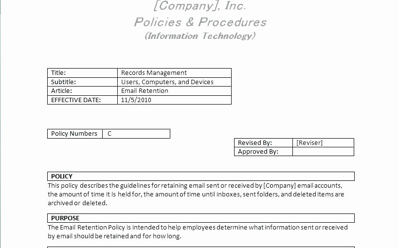 Physical Security Policy Template Elegant Physical Security Policy Template Physical Security Policy
