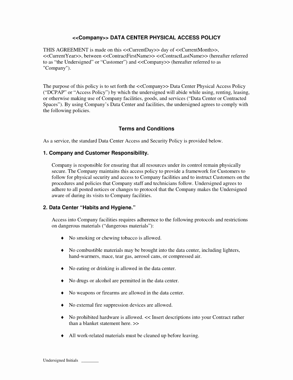 Physical Security Policy Template Fresh Ideas for Physical Security Policy Template Job Summary