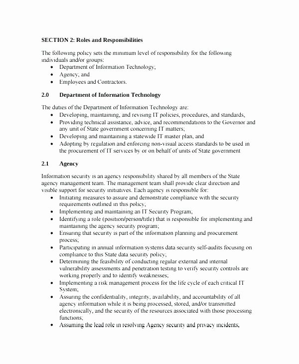 Physical Security Policy Template New Network Policy Template Vulnerability assessment Proposal