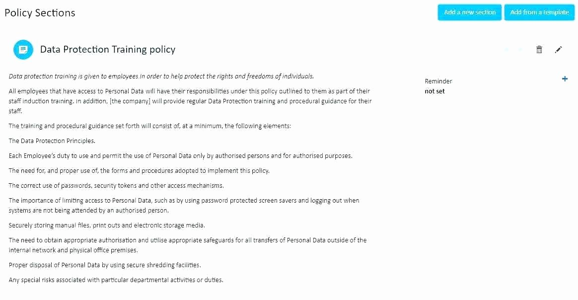 Physical Security Policy Template New Physical Security Policy Template Physical Security Policy