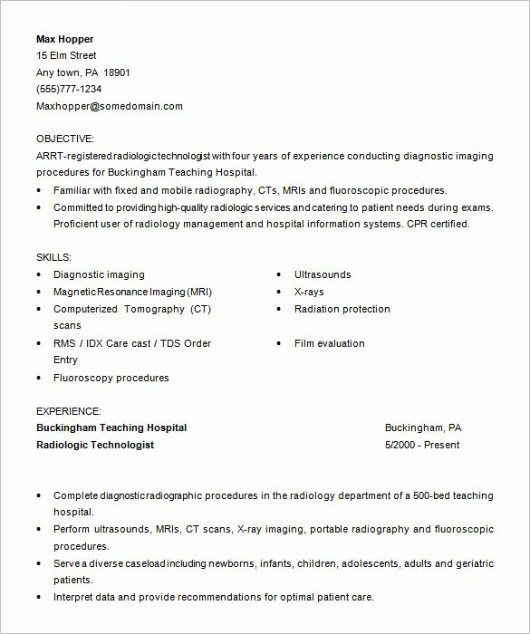 Physician Cv Template Word Inspirational 5 Medical assistant Resume Templates Doc Pdf