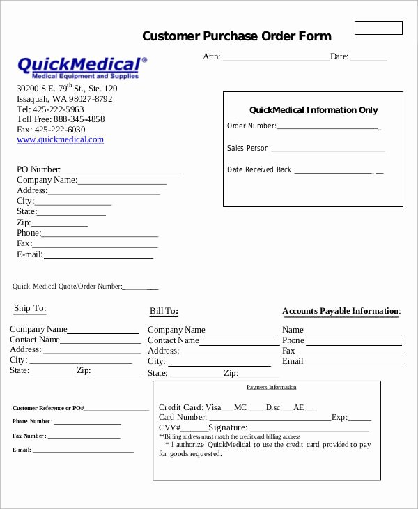 Physician orders form Template Lovely Medical order forms 11 Free Word Pdf format Download