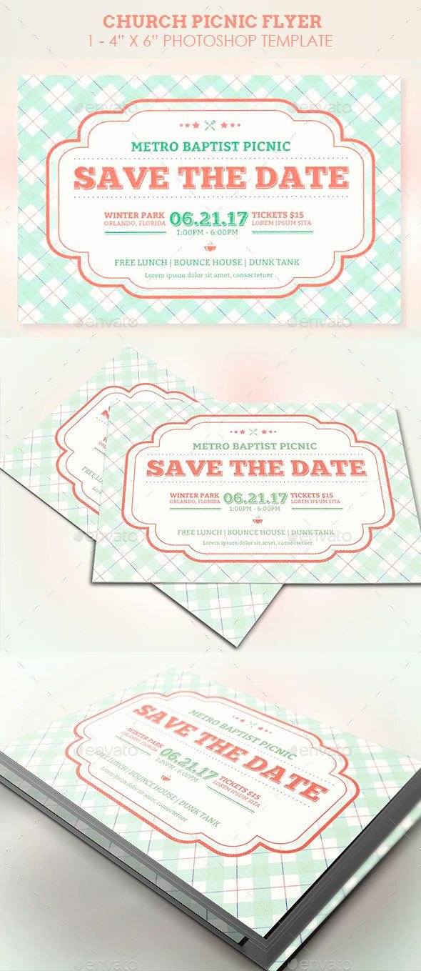 Picnic Flyer Template Free Beautiful Best 25 Church Picnic Ideas On Pinterest