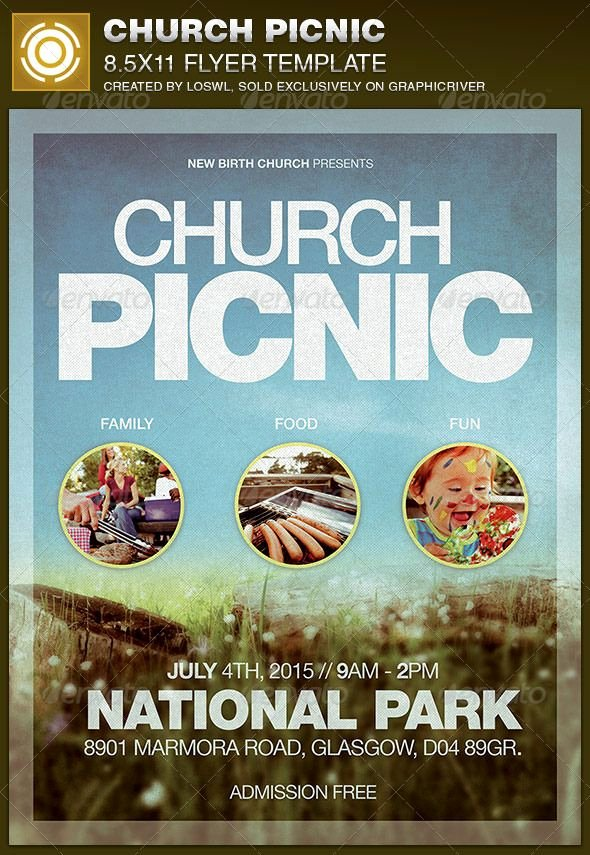Picnic Flyer Template Free Best Of Best 20 Church Picnic Ideas On Pinterest