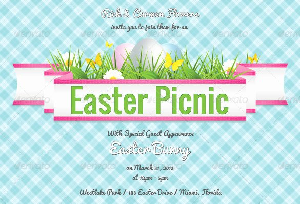 Picnic Invitation Template Free Awesome Picnic Invitation Template – 20 Free Psd Vector Eps Ai