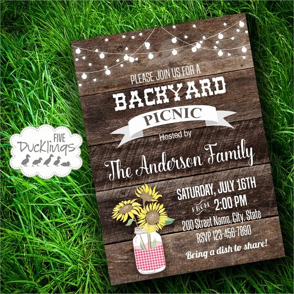 Picnic Invitation Template Free Best Of 10 Picnic Invitation Templates