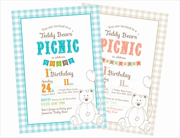 Picnic Invitation Template Free Elegant 26 Picnic Invitation Templates Psd Word Ai