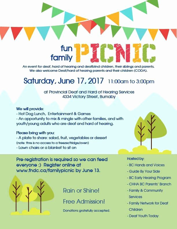 Picnic Invitation Template Free Inspirational Family Picnic Invitation Templates Free Fun Hands Voices
