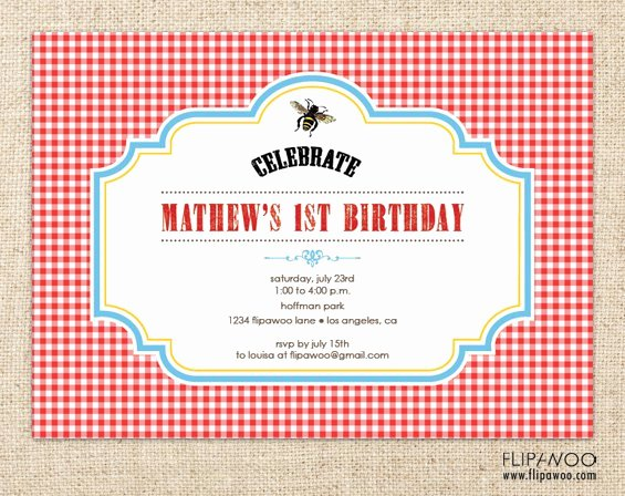 Picnic Invitation Template Free Unique Free Printable Picnic Invitations Templates