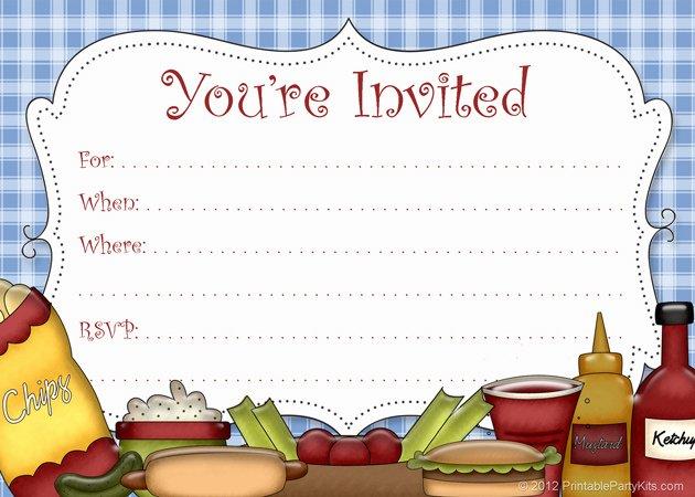 Picnic Invite Template Free Inspirational Picnic Invitation Template