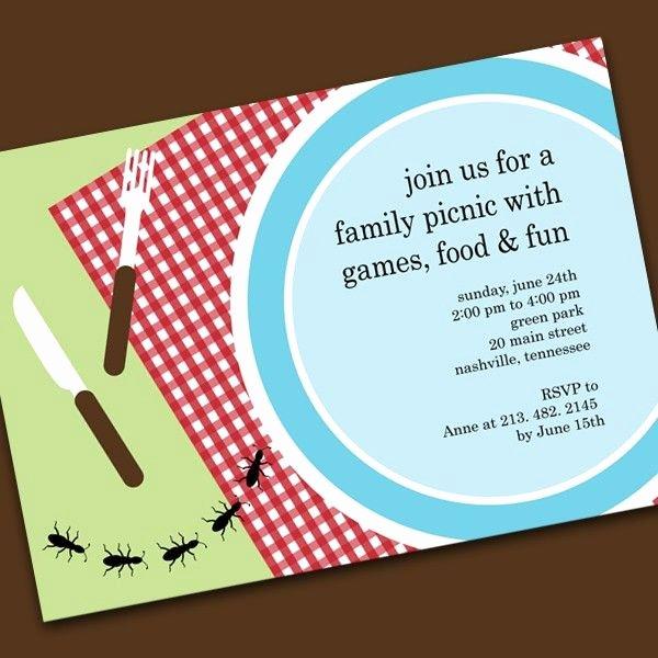Picnic Invite Template Free Inspirational Picnic Invitations Templates Staff Retreat
