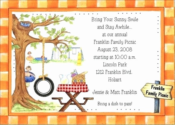 Picnic Invite Template Free Lovely 9 Inspirational Free Downloadable Picnic Invitation
