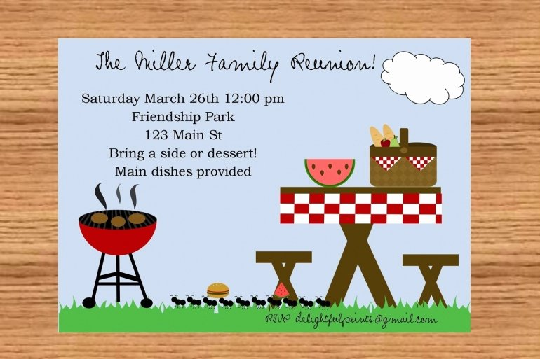 Picnic Invite Template Free Luxury 24 Free Picnic Flyer Templates for All Types Of Picnics