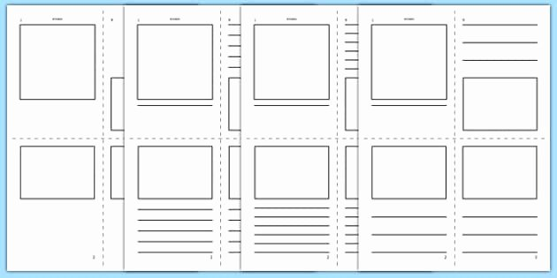 Picture Book Template Printable Awesome Free Mini Book Template Mini Book Booklet Pamphlet