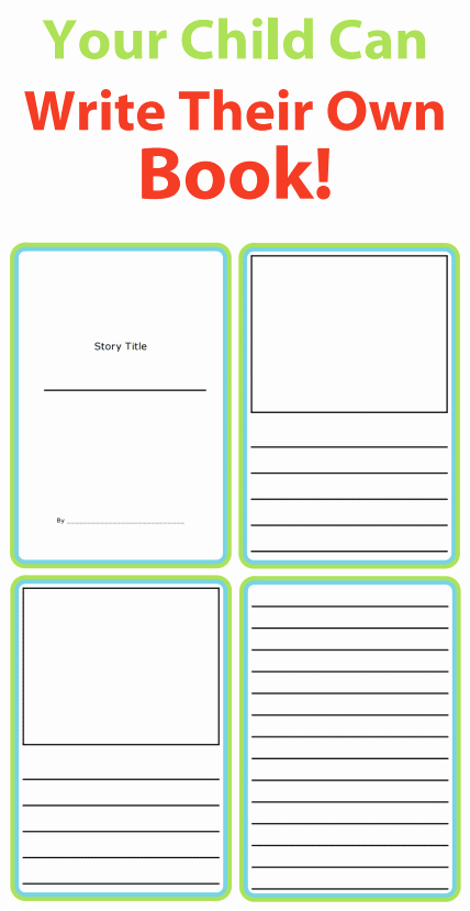 Picture Book Template Printable Inspirational Story Templates to Get Kids Writing the Trip Clip