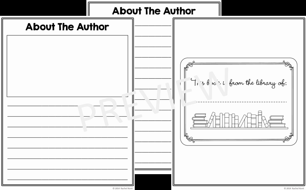 Picture Book Template Printable Luxury Free Book Template Printables Rachel K Tutoring Blog