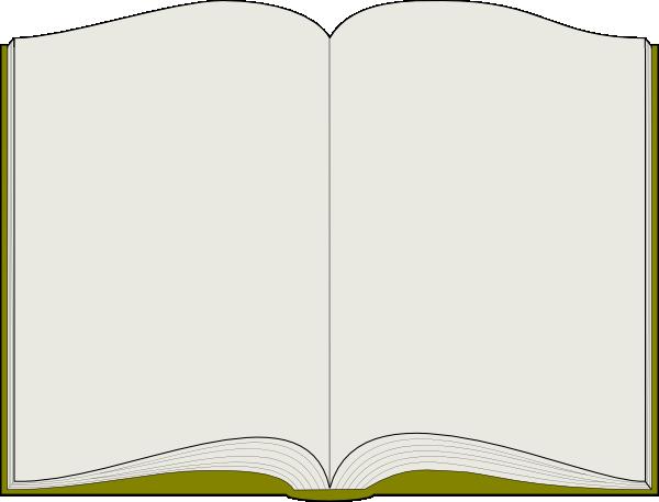 Picture Book Template Printable Unique Open Book Clip Art at Clker Vector Clip Art Online