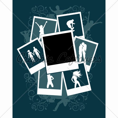 Picture Frame Collage Template Beautiful Collage S Template Insert Your Picture Into
