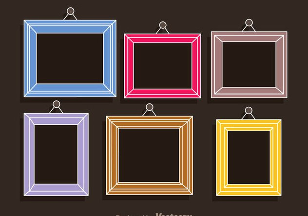 Picture Frame Collage Template Best Of Colorful Frames Collage Template Free Vector