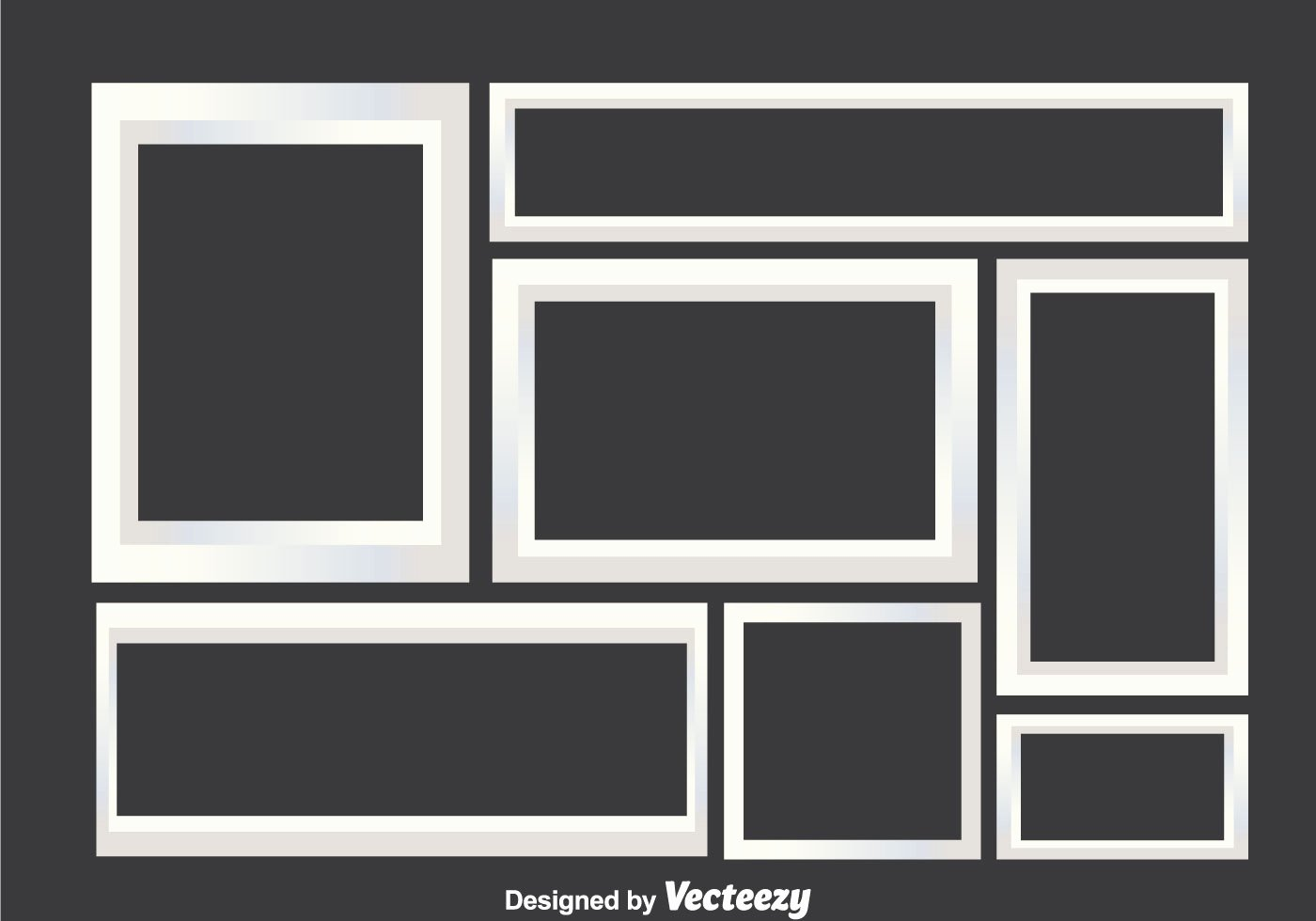 Picture Frame Collage Template Lovely White Collage Frames Download Free Vector Art