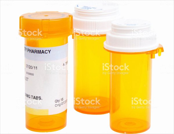 Pill Bottle Label Template Beautiful 15 Printable Bottle Label Templates Design Templates