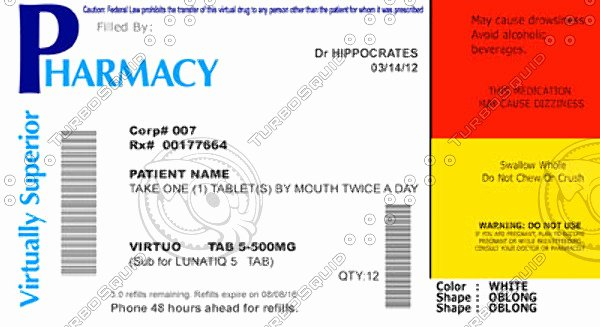 Pill Bottle Label Template Fresh the Gallery for Prescription Bottle Label Template