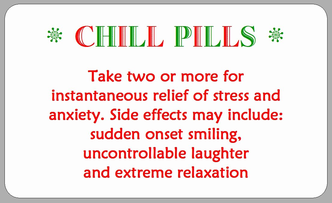 picture regarding Chill Pill Label Printable named Tablet Bottle Label Template Stcharleschill Template
