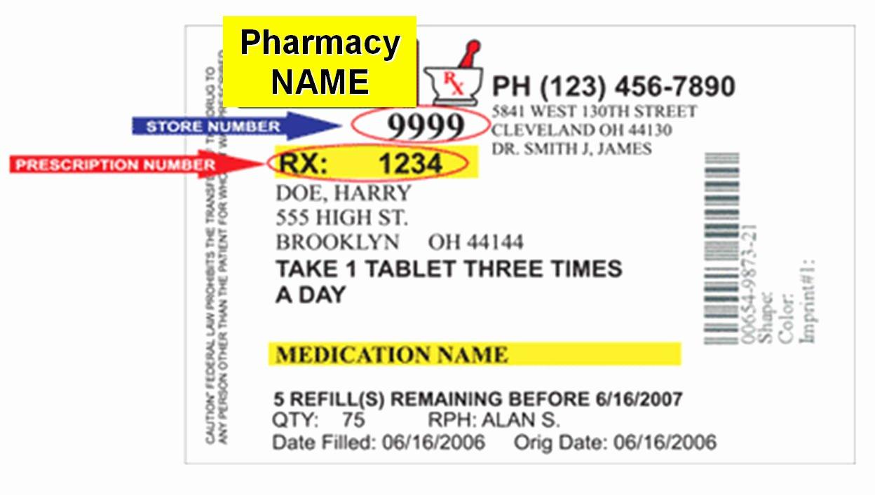 Pill Bottle Label Template New the Gallery for Walgreens Prescription Bottle Label