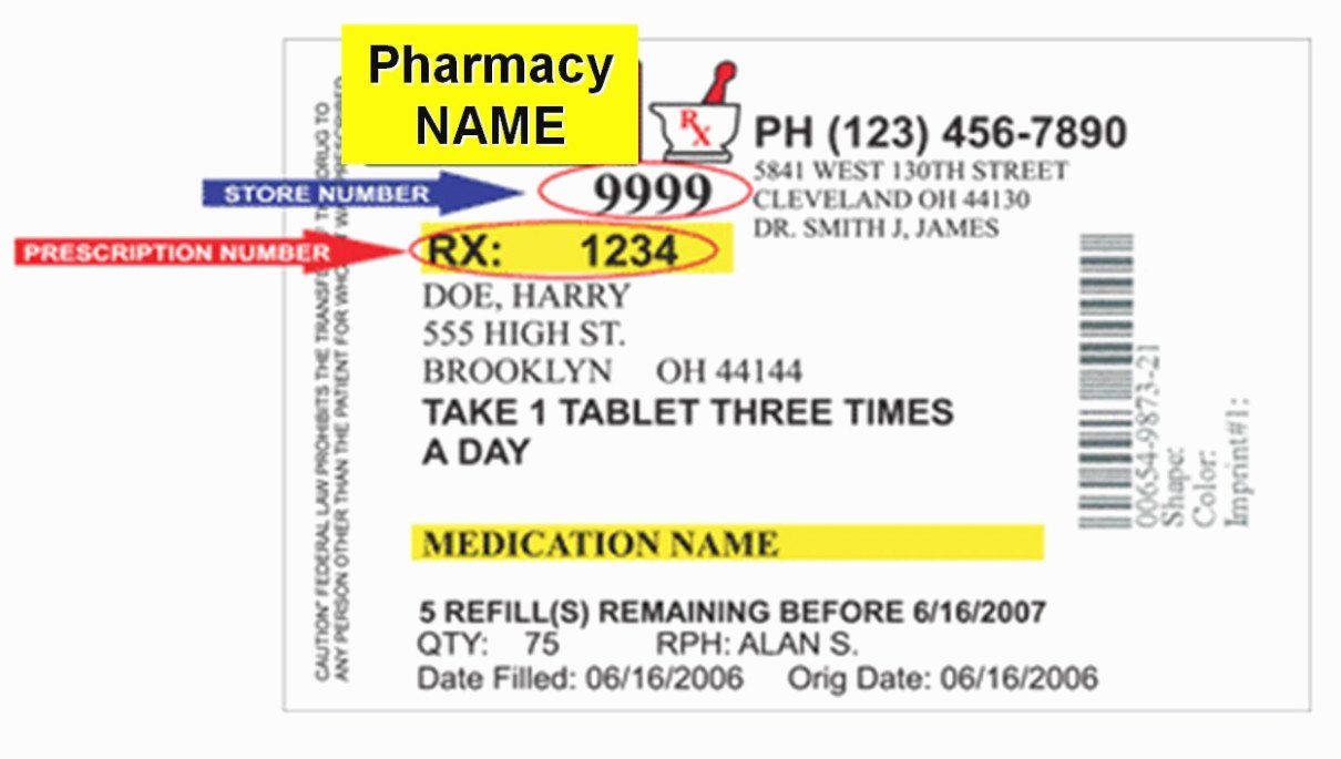 Pill Bottle Label Template New the Modern Rules