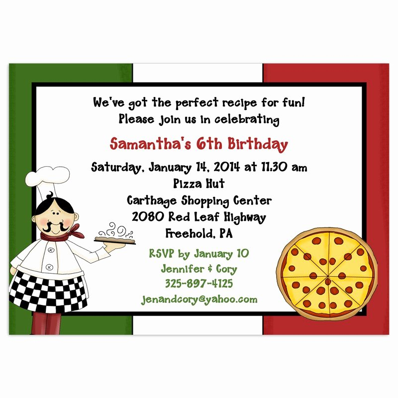 Pizza Party Invitations Template Inspirational 8 Best Of Printable Pizza Invitations Pizza Party
