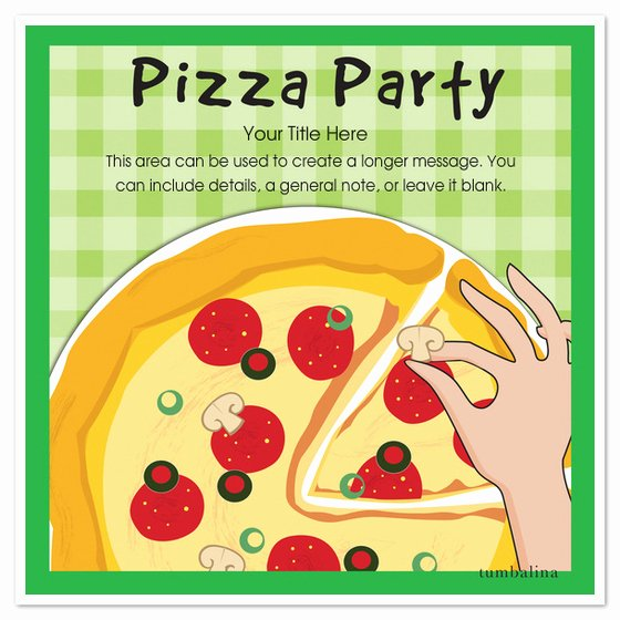 Pizza Party Invitations Template Lovely Pizza Pizza Party Invitations & Cards On Pingg