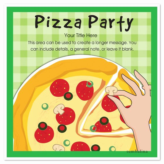 Pizza Party Invitations Template New Pizza Party Invitation Blank Templates