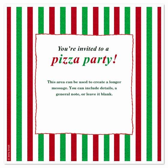 Pizza Party Invite Template Unique Pizza Party Invitations & Cards On Pingg
