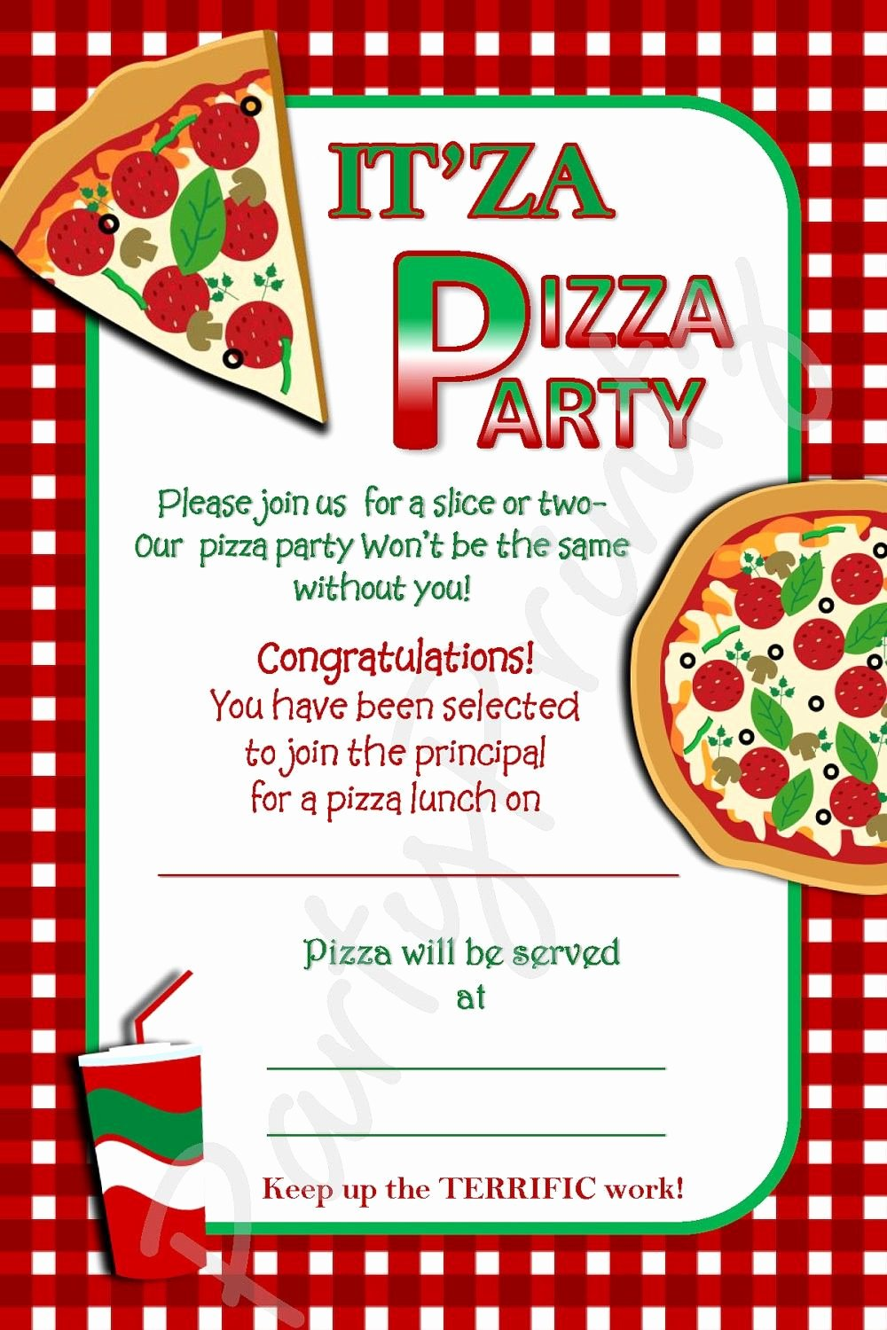 Pizza Party Invites Template New Pizza Party Invitations Party Invites