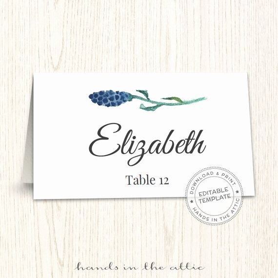 Place Card Template Wedding Luxury 1000 Ideas About Place Card Template On Pinterest