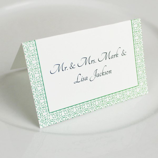 Place Card Template Wedding New Vintage Reception Place Card Template – Download & Print