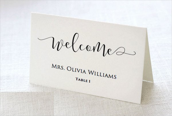 Place Cards Template Wedding Fresh 37 Examples Of Wedding Card Design Psd Ai Vector Eps