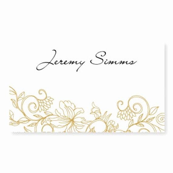 Place Cards Template Wedding Lovely Wedding Place Card Template Instant by Diyweddingtemplates