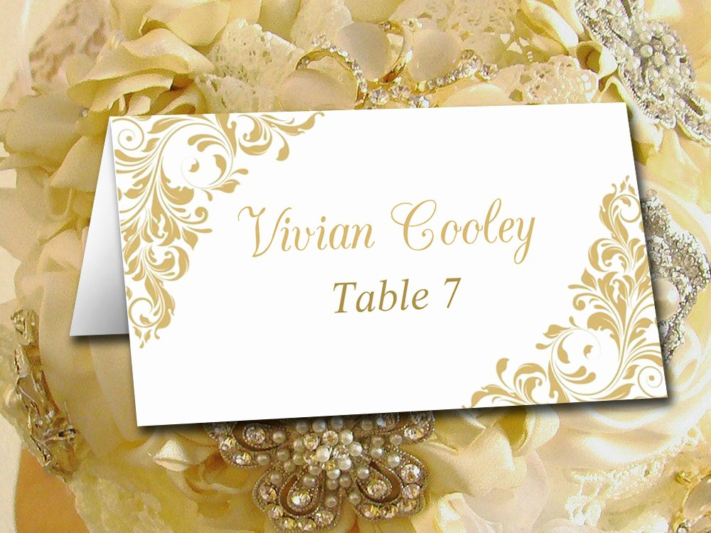 Place Cards Template Wedding Unique Diy Wedding Place Card Template Printable Tent Escort Card