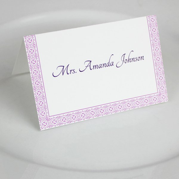 Place Cards Template Wedding Unique Microsoft Word Wedding Place Card Templates – Download & Print